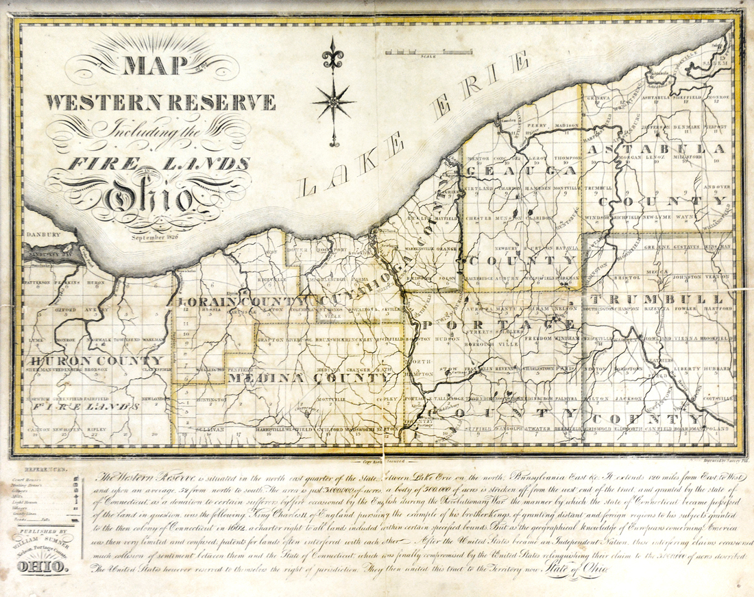 Historical Maps Erie County Ohio Historical Society Resources Info