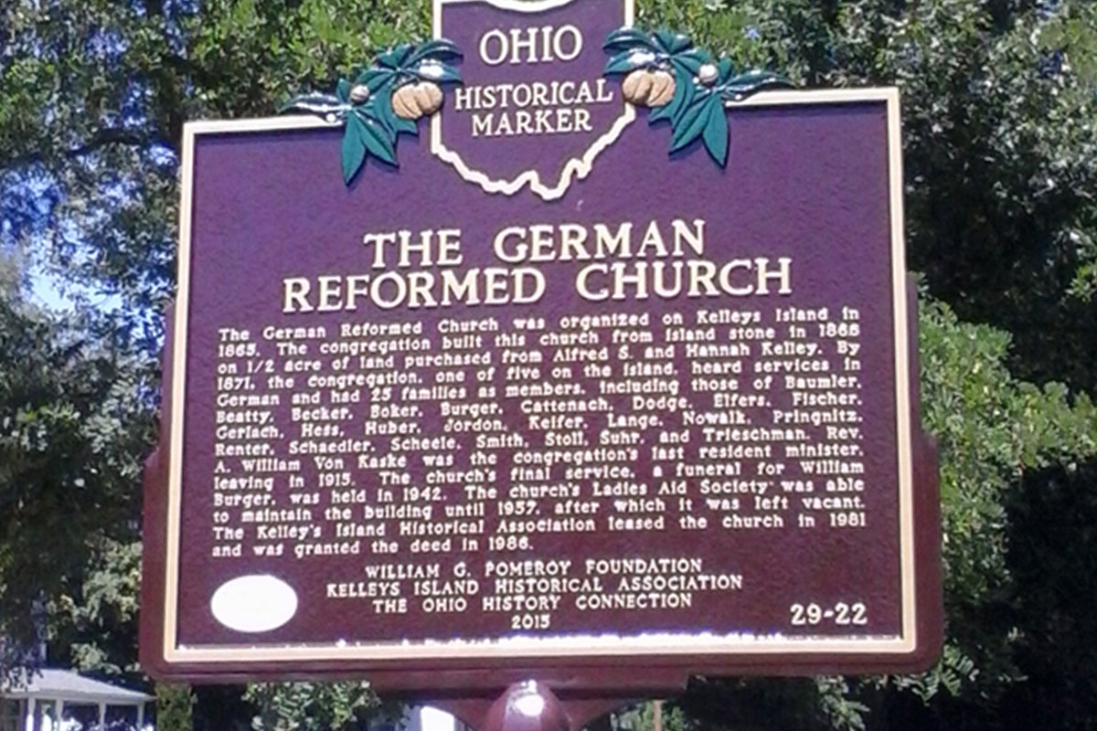 German Reformed Church - Erie County Ohio Historical Society