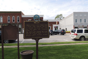 Milan Marker - Erie County Ohio Historical Society
