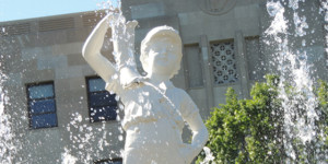 Boy With The Boot - Erie County Ohio Historical Society