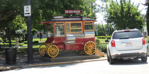 Red Popcorn Wagon - Erie County Ohio Historical Society