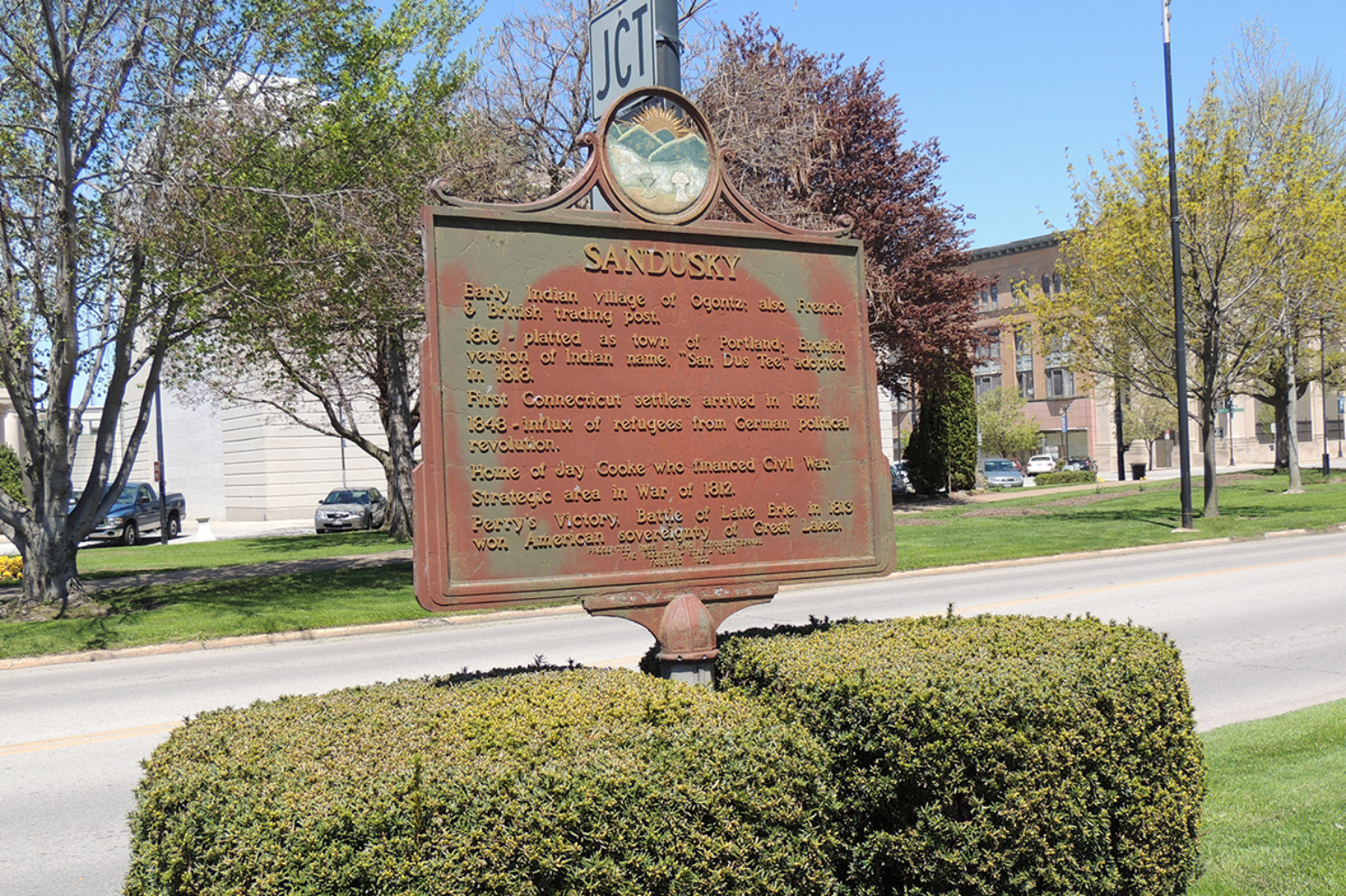 Sandusky Marker - Erie County Ohio Historical Society