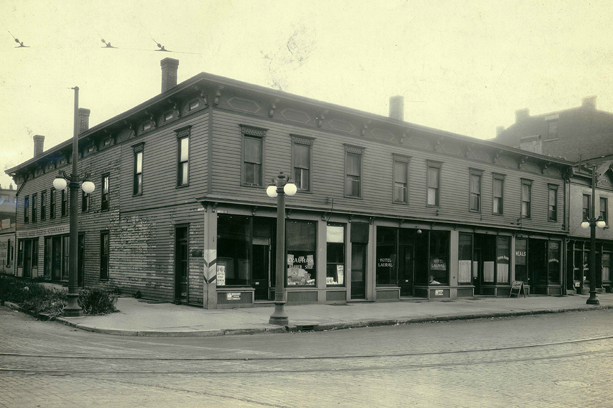 Colt's Steamboat Hotel - Erie County Ohio Historical Society