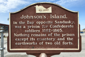 Johnson's Island Marker - Erie County Ohio Historical Society