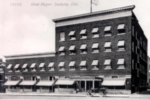 Rieger Hotel - Erie County Ohio Historical Society