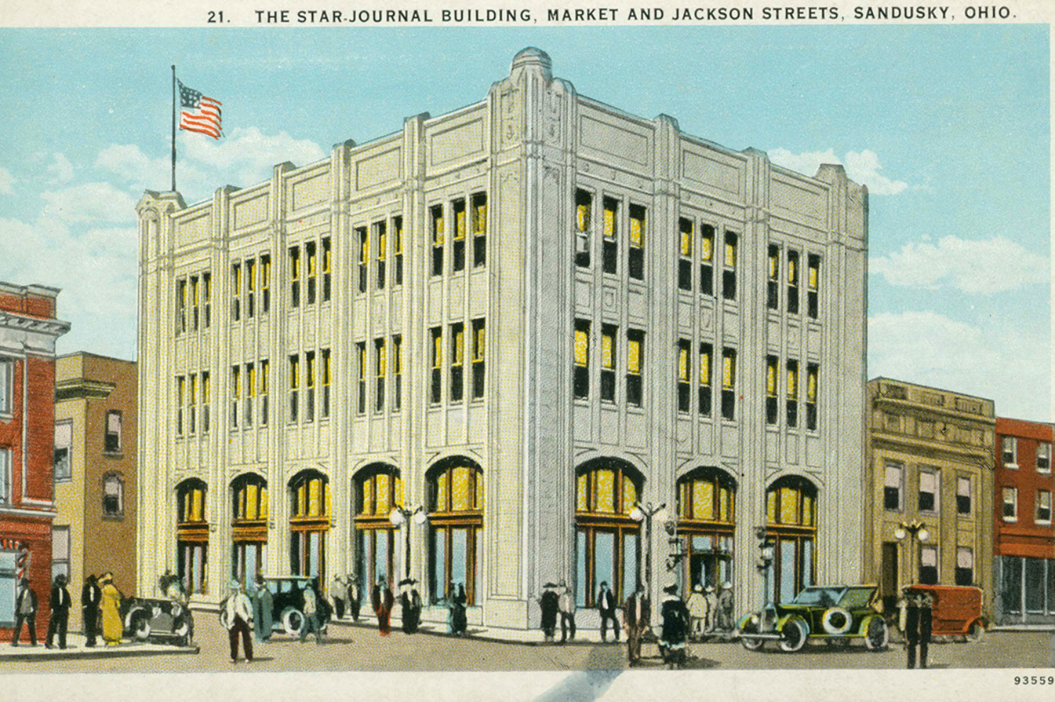 Sandusky Register Star Journal Building - Erie County Ohio Historical Society